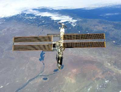 ISS nad Rio Negro