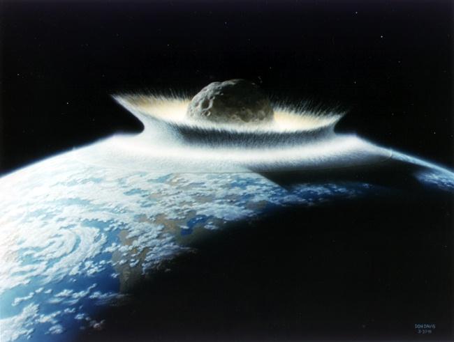 Uderzenie masywnego obiektu w Ziemię