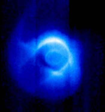 Magnetosfera wokół północnego bieguna Ziemi