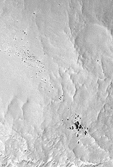 Tajemnicze głazy na powierzchni Marsa