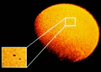 Małe komety śniegowe wpadające w atmosferę Ziemi