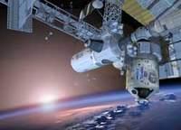 Moduł Enterprise przyłączony do ISS