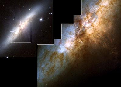 Galaktyka M82