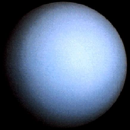 Uran - siódma planeta Układu Słonecznego