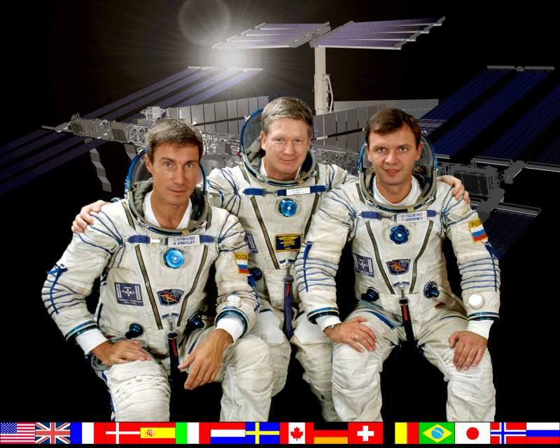 Pierwsza stała załoga Międzynarodowej Stacji Kosmicznej