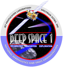 Logo misji Deep Space 1