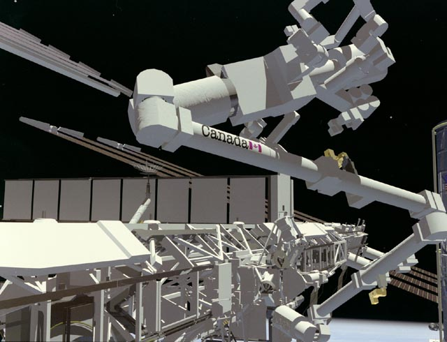 Kanadyjskie ramię dźwigowe dla ISS