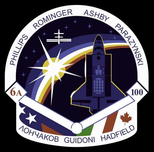 Logo misji STS-100