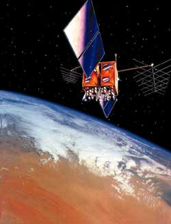 Satelita GPS Block 2R