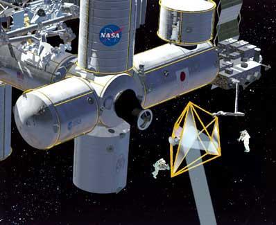 Teleskop DART zamontowany do ISS