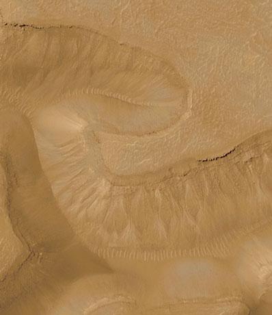 Kanały na Marsie