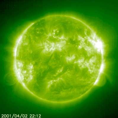 Rozbłysk słoneczny z 2 kwietnia 2001 roku