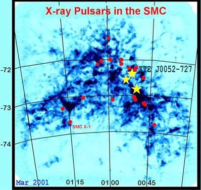 Pulsary w Małym Obłoku Magellana