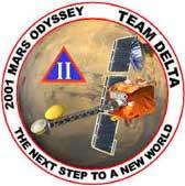 Logo misji 2001 Mars Odyssey