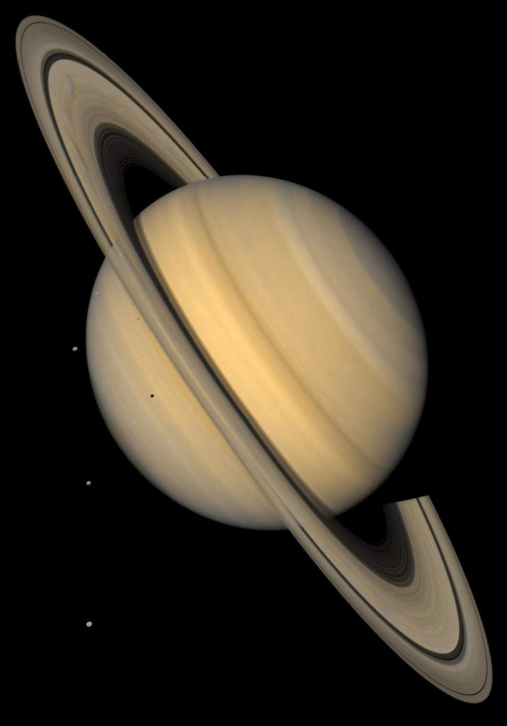 Saturn i jego księżyce