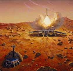Wystrzelenie próbnika z Marsa