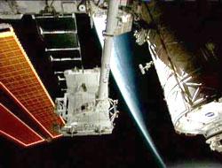 Canadarm2 podczas awarii systemu komputerowego