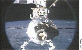 Odłączenie promu Endeavour od Stacji Kosmicznej