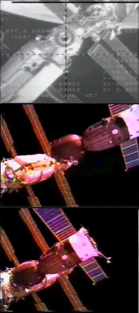 Widok z kamery Sojuza