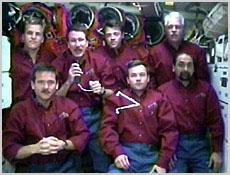 Załoga misji STS-100