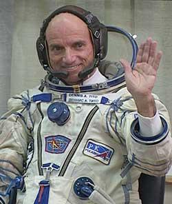 Dennis Tito - amerykański turysta w Kosmosie
