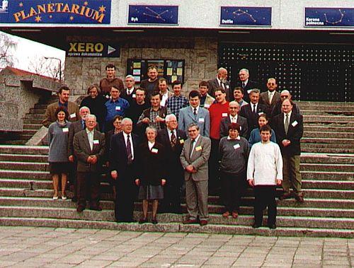 Uczestnicy Seminarium Meteorytowego