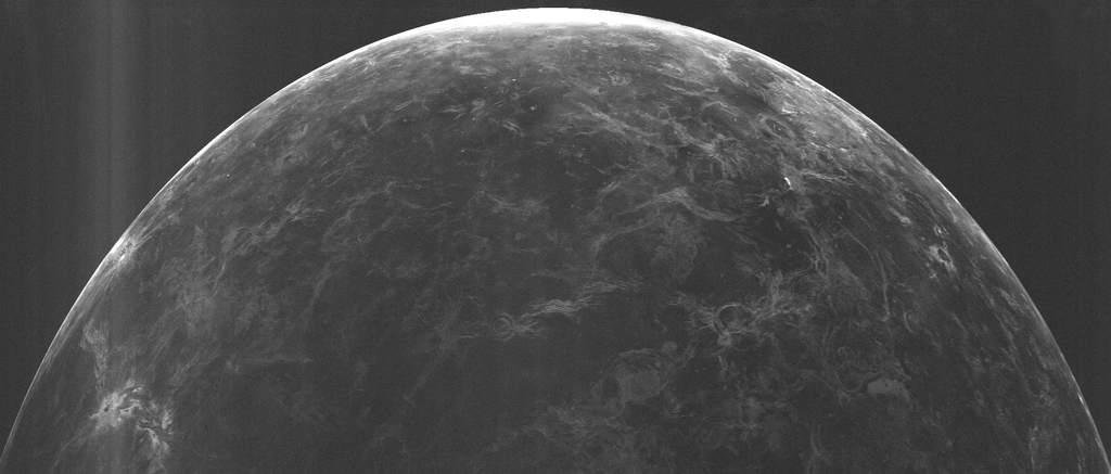 Radarowe zdjęcie powierzchni Wenus