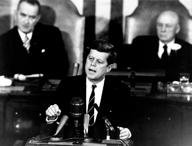 Prezydent USA John F. Kennedy