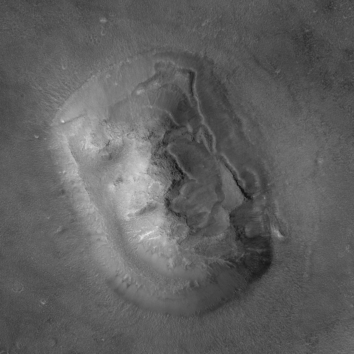 Twarz na Marsie