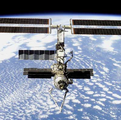 ISS i Canadarm
