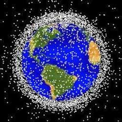 Drobne śmieci wokół Ziemi