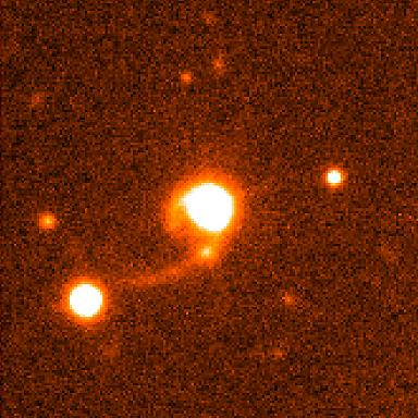 Kwazar versus galaktyki