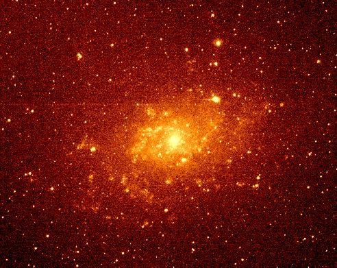 M33 - galaktyka spiralna