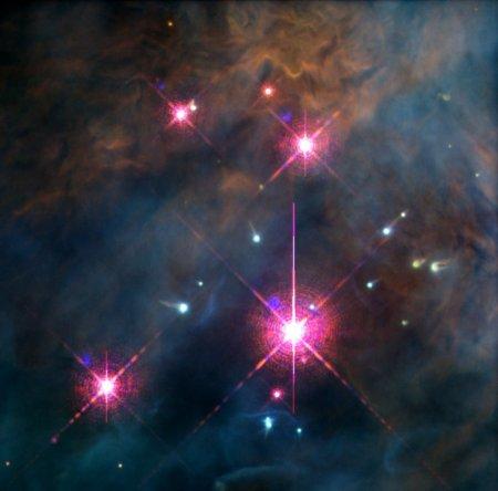 Gromada Trapez w Mgławicy w Orionie