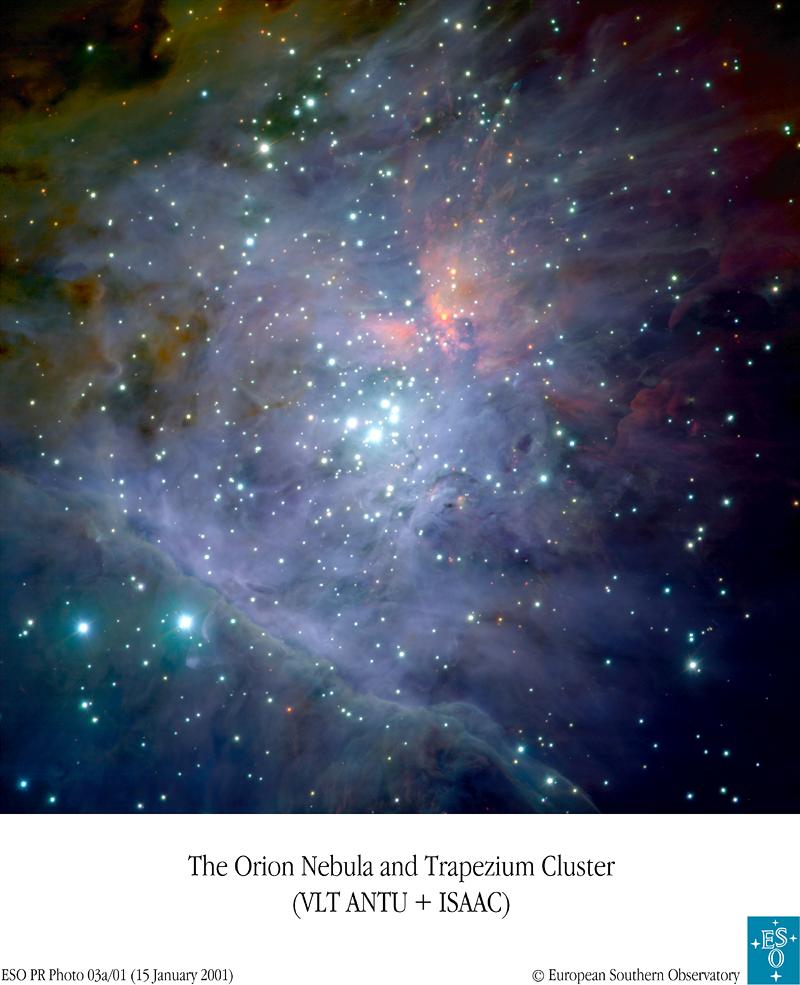 M42 - Wielka Mgławica w gwiazdozbiorze Oriona