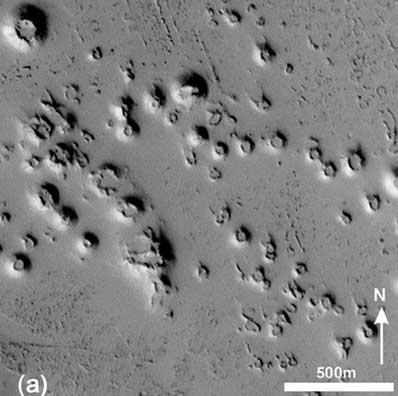 Stożki na Marsie