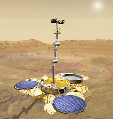 Skaut na powierzchni Marsa