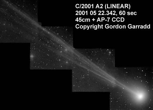 Kometa Linear znów jaśniejsza