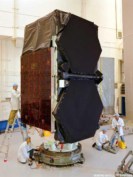 Satelita ICO w przygotowaniu