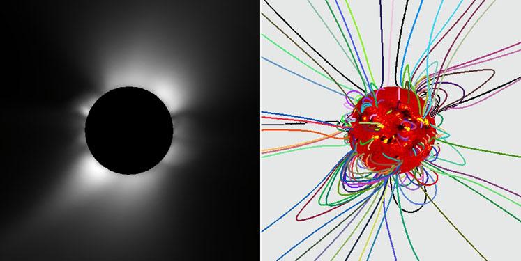 Magnetogram Słońca