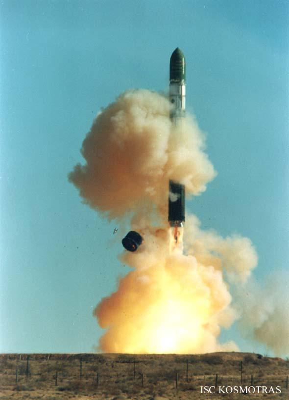 Start rakiety Dniepr-1