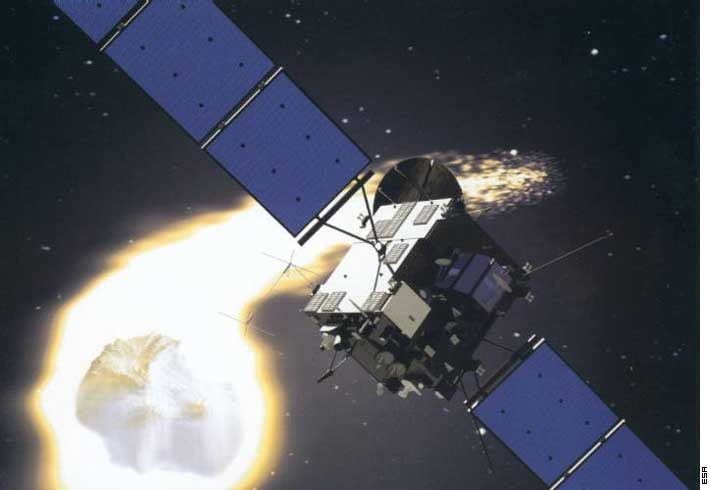 Sonda Rosetta zbada jądro komety