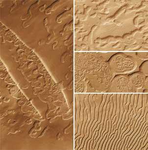 Południowy biegun Marsa