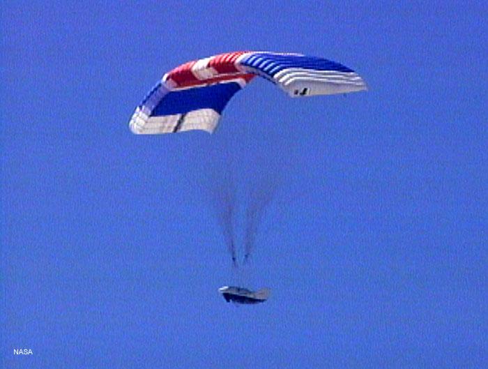 Lądowanie pojazdu X-38