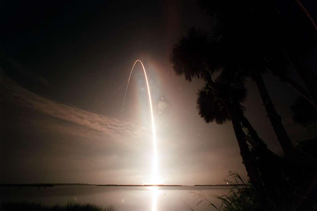 Start Atlantisa - misja STS-104