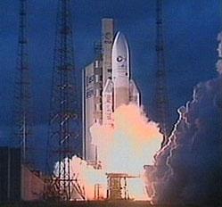 Start rakiety Ariane 510