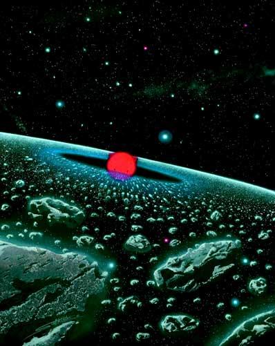 Otoczenie gwiazdy IRC+10216