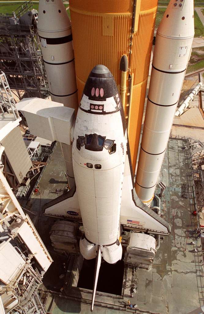 Atlantis i obsługa platformy startowej