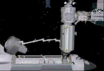 Instalacja śluzy Quest na ISS
