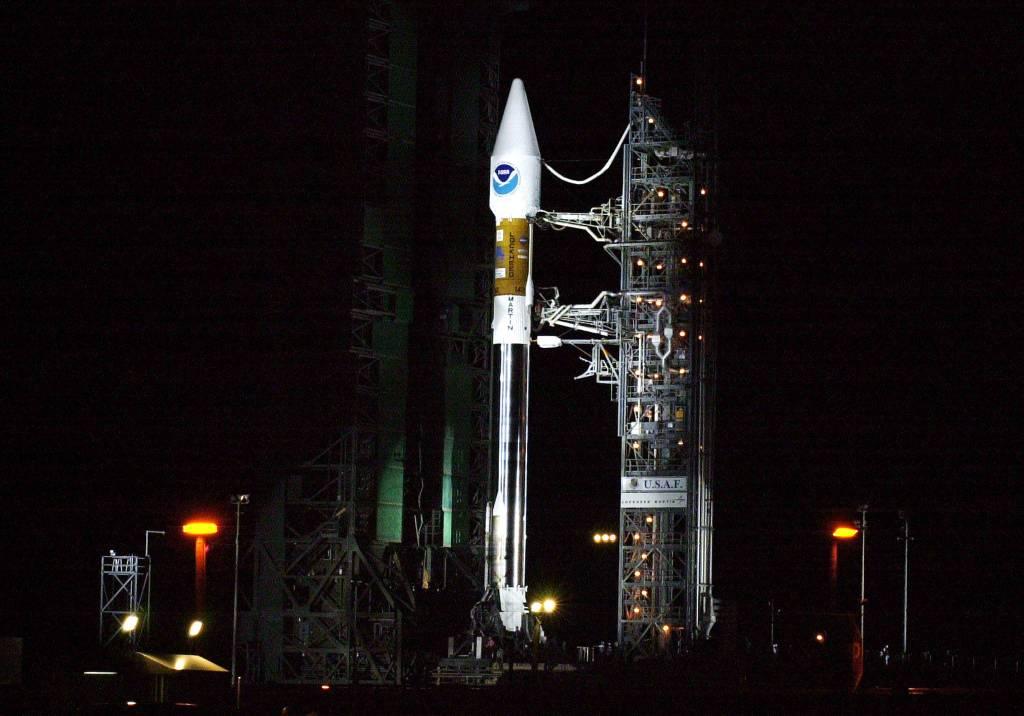 Atlas II na platformie 36-A